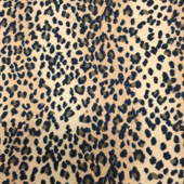 Leopard Flannel Print Fabric
