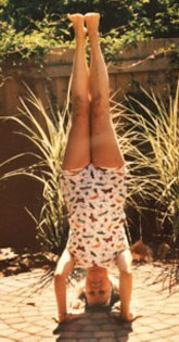 laura headstand
